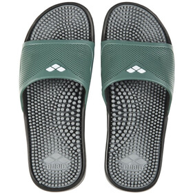 arena Marco X Grip Hook Sandaler, dark grey/army